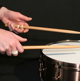 Drumming with Gig Grips
